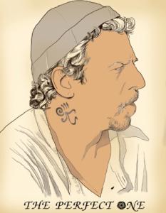 Интегральное тату рубин шея