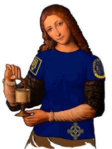 Интегральная футболка «Грааль» женская