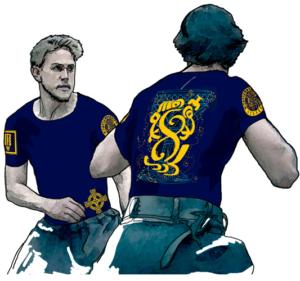 Интегральная футболка «Грааль» мужская