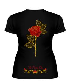 Футболка «The Perfect One — Красная роза» спина