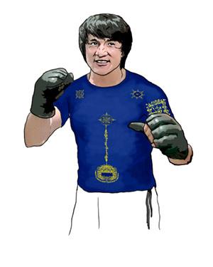Сак Янт — защитная футболка-татуировка. Сак Янт — магическое нанесение символов на тело и на одежду.