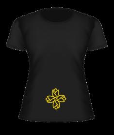 Тантрическая футболка «Тюльпан»